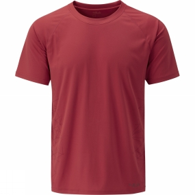 Product image of Rab Mens Aerial Tee Cayenne