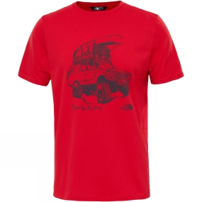 The North Face The North Face Mens Tansa Tee High Risk Red