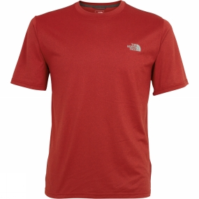 The North Face Men's Reaxion Amp Crew Cardinal Red Heather