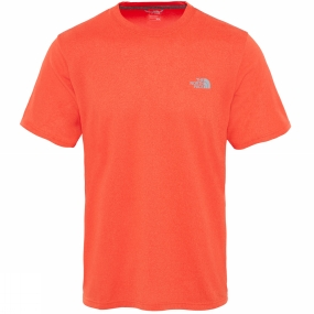 The North Face The North Face Men's Reaxion Amp Crew Acrylic Orange Heather