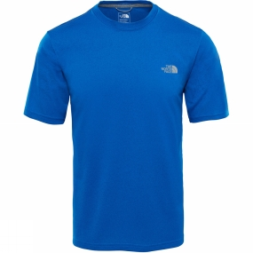 The North Face The North Face Men Reaxion Amp Crew T-Shirt Turkish Sea Heather