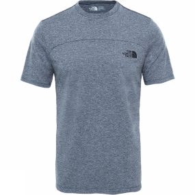 The North Face The North Face Mens Purna T-Shirt Urban Navy White Heather