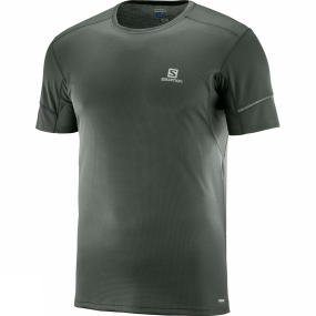 Salomon Salomon Mens Agile Short Sleeve Tee Urban Chic