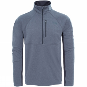 The North Face The North Face Mens Ambition 1/4 Zip Pullover TNF Medium Grey Heather/Asphalt Grey