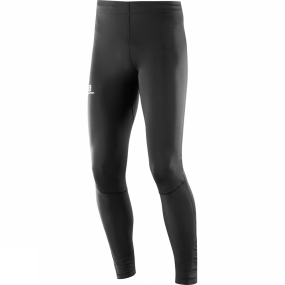 Salomon Salomon Mens Agile Long Tights Black