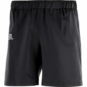 Salomon Salomon Mens Agile 7' Shorts Black