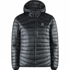 Haglofs Haglofs Womens Essens III Down Hood True Black / Magnetite
