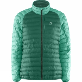 Haglofs Haglofs Womens Essens Mimic Jacket Marble Green / Jade