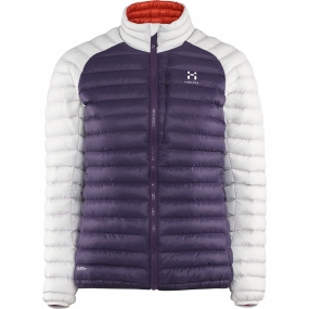 Haglofs Haglofs Womens Essens Mimic Jacket Acai Berry / Haze