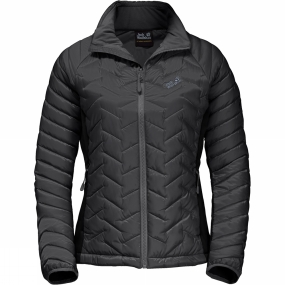 Jack Wolfskin Jack Wolfskin Womens Icy Water Jacket Black/Dark Iron