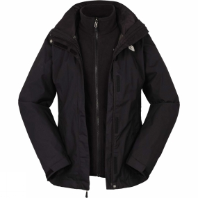 The North Face The North Face Womens Evolve II Triclimate Jacket TNF Black/TNF Black