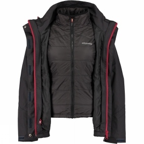 Womens BlizzArt 3-in-1 With Synthetic Inner Jacket