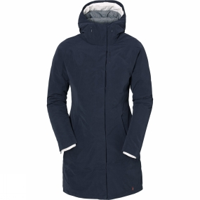 Vaude Womens Annecy 3-in-1 Coat Eclipse