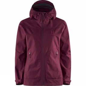 Haglofs Womens Trail Jacket Aubergine