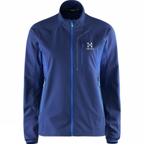 Haglofs Haglofs Womens Lizard II Jacket Hurricane Blue