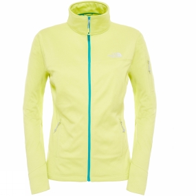 The North Face The North Face Womens Kyoshi Full Zip Jacket Tokyo Green