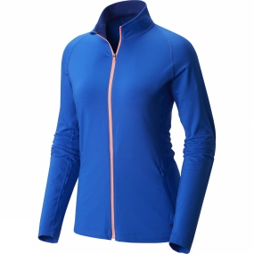 Mountain Hardwear Mountain Hardwear Women's Butterlicious Full Zip Jacket Bright Island Blue