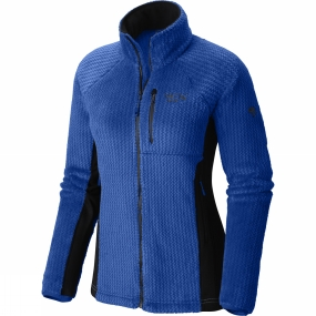 Mountain Hardwear Mountain Hardwear Womens Monkey Pro Jacket Bright Island Blue