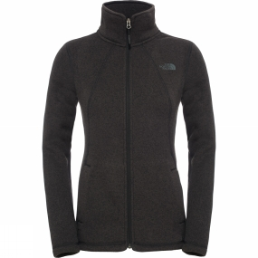 The North Face The North Face Womens Crescent Full Zip Fleece TNF Black Heather