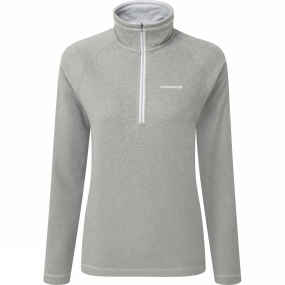 Craghoppers Craghoppers Womens Seline Half zip Quarry Grey Marl
