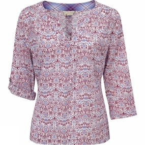 Womens Oasis Printed Pullover