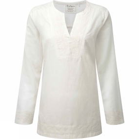 Craghoppers Womens Clemence Long Sleeve Top Calico