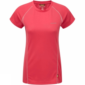 Craghoppers Womens Vitalise Base T Electric Pink
