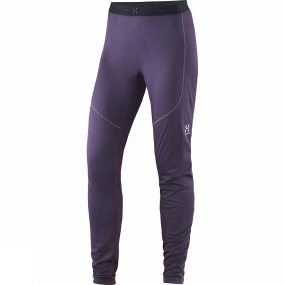 Haglofs Women's Actives Blend Long Johns Acai Berry