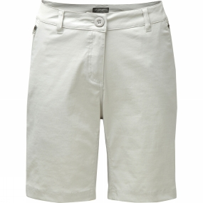Craghoppers Craghoppers Womens Kiwi Pro Shorts Dove Grey