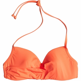 Roxy Roxy Womens Sunset Paradise Bikini Top Orange