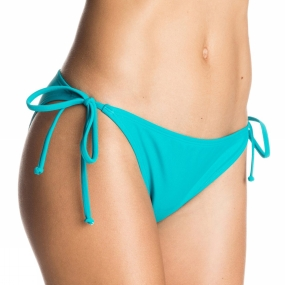 Roxy Roxy Womens Surf Essentials Bikini Bottoms Dark Jade