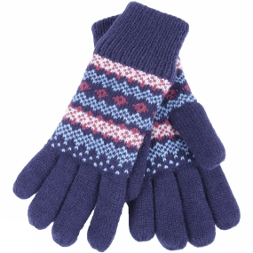 Brakeburn Womens Fairisle Gloves Multi