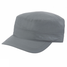 The North Face Womens Horizon Logo Military Hat Sedona Sage Grey