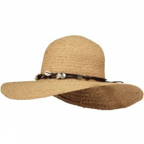 Ayacucho Womens Lady Shade Hat Natural