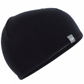 Icebreaker Icebreaker Pocket 200 Hat Black/Gritstone Heather