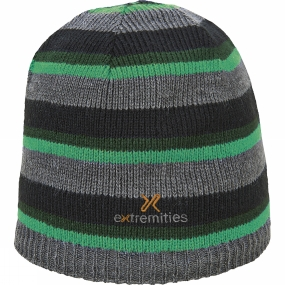 Extremities Reversable Knit Beanie Black/Green
