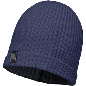 Buff Basic Knitted Hat Dark Navy