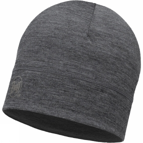 Buff Merino Wool Singer Layer Hat Grey