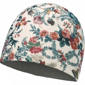 Buff Microfiber Patterned Polar Hat Arad Multi