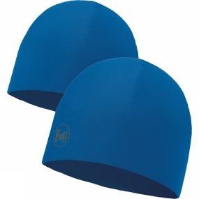 Buff Buff Microfiber Reversible Hat Solid Blue Skydiver