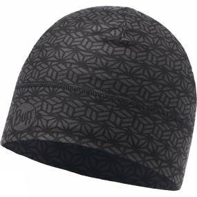 Buff ThermoNet Hat Patterned