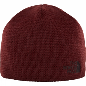 The North Face Bones Beanie Sequoia Red/ Brunette Brown