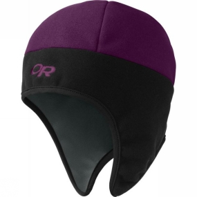 Outdoor Research Mens Peruvian Hat Plum/Black