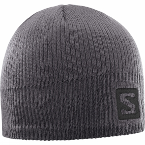 Salomon Salomon Logo Beanie Forged Iron