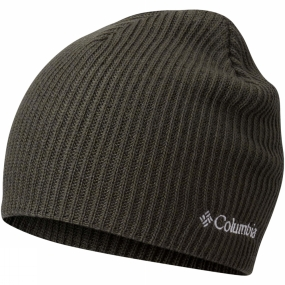 Columbia Whirlibird Watch Cap Gravel / Surplus Green Marled