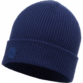 Buff Buff Edsel Knitted Hat Blue Ink