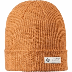 Columbia Mens Lost Lager Beanie Canyon Gold Heather