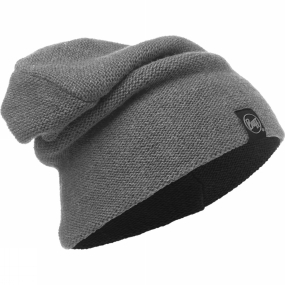 Buff Buff Colt Knitted Hat Grey Pewter
