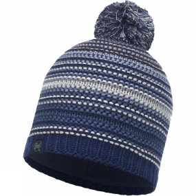 Buff Buff Neper Knitted Hat Blue Ink