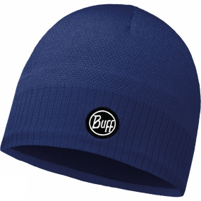 Buff Buff Taos Knitted Hat Blue Ink